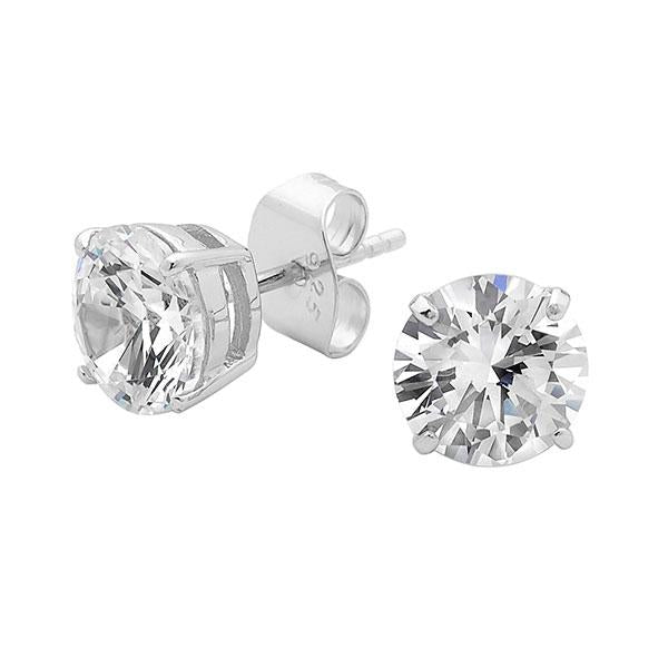 Georgini 8mm Brilliant Stud Earring