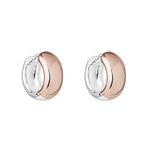 Najo Breeze Rose/Sil Huggie Earring