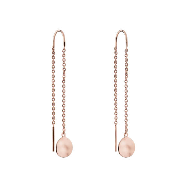 Najo Double Beat Thread Earring Rose