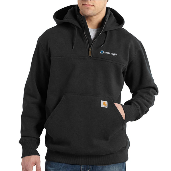 Men's Raid Defender Paxton HW Hooded Zip Mock Sweatshirt