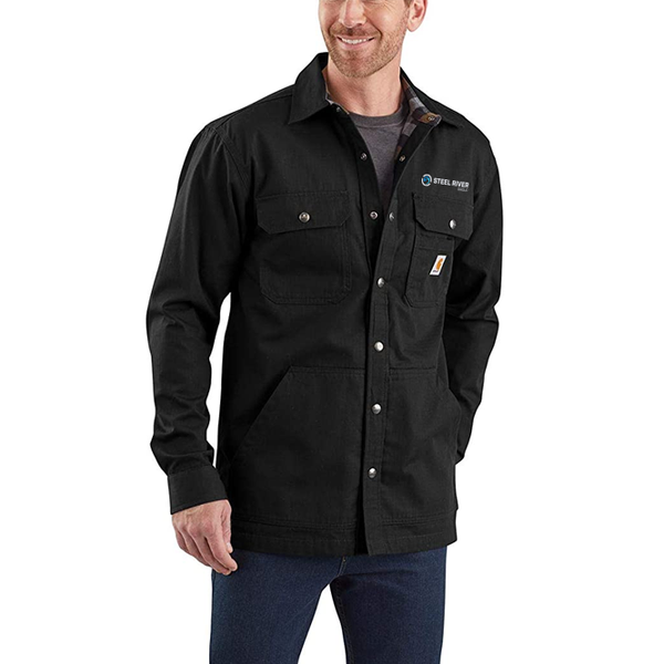 RIPSTOP SOLID SHIRT JACKET