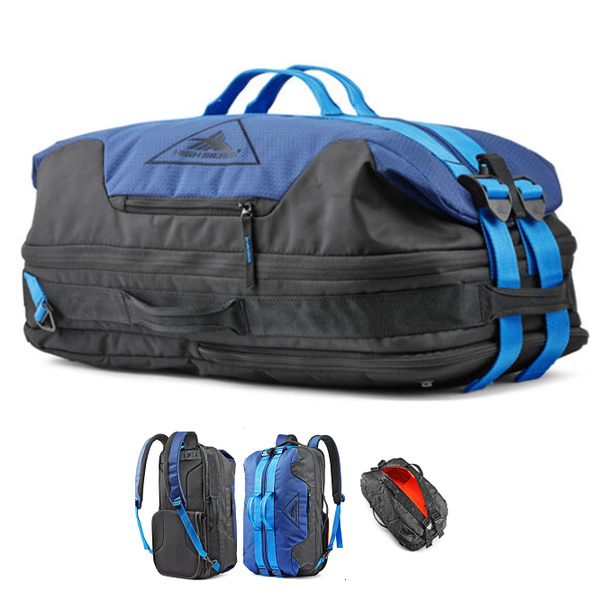 HIGH SIERRA DELLS CANYON CONVERTIBLE DUFFEL BACKPACK