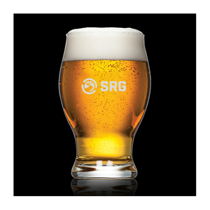 Rotherham Beer Glass - Deep Etch 16oz