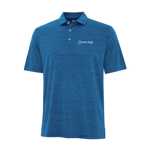 MEN'S CALLAWAY BROKEN STRIPE TEXTURE POLO