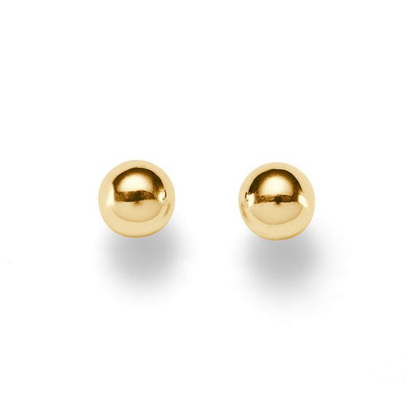 9ct 7mm Ball Studs