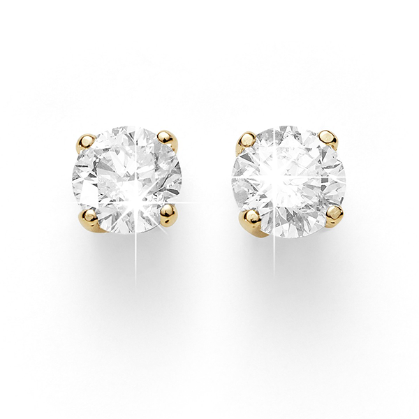 9ct Gold 0.15ct Diamond Studs
