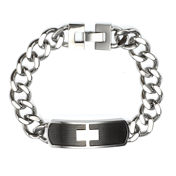 Cudworth Stainless Steel ID Bracelet