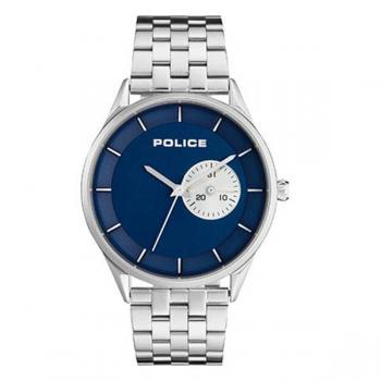 Police Watch Alton Blue Dial Stainless Steel Bracelet