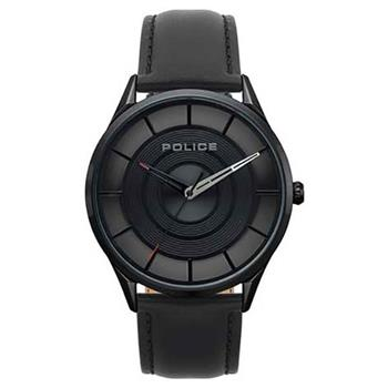Police Watch Burbank Black Dial Black Strap