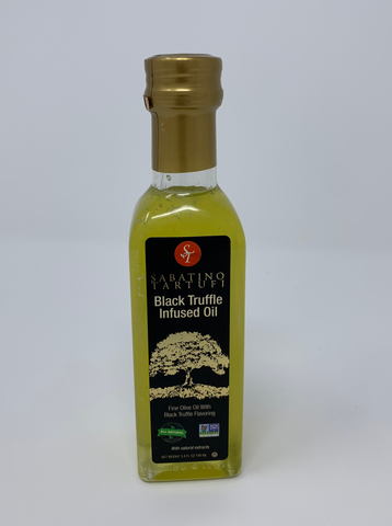 Sabatino Tartufi All Natural Black Truffle Infused Olive Oil 3.4 oz.