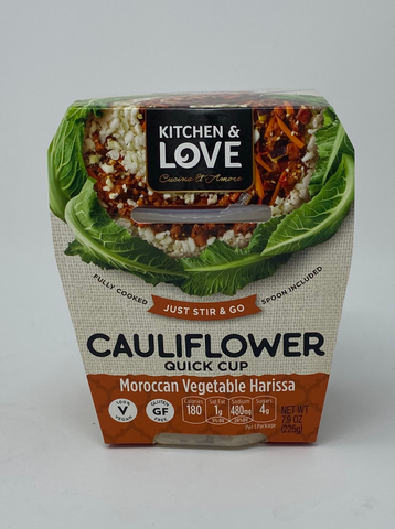 Kitchen & Love Moroccan Vegetable Harissa Cauliflower Quick Meal