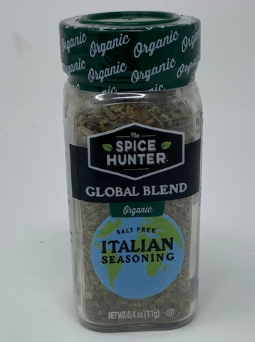 The Spice Hunter Organic Italian Seasoning Blend, 0.6-Ounce Jar