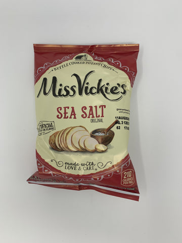MISS VICKIE'S FARMHOUSE SEA SALT KETTLE COOKED POTATO CHIPS
