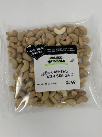 Fire Roasted Sea Salt Cashews