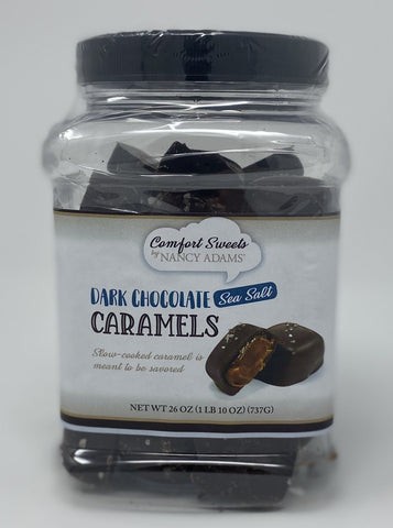 Comfort Sweets - Dark Chocolate Sea Salt Caramels