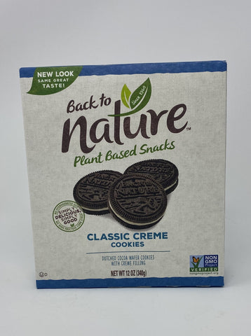 Back to Nature Classic Creme Cookies
