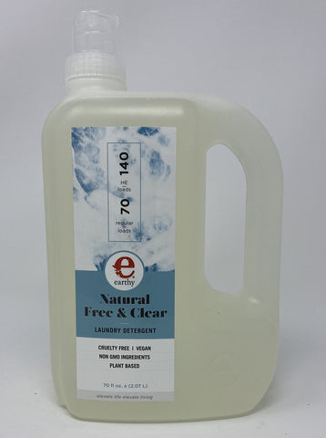 Earthy Natural Free and Clear Laundry Detergent