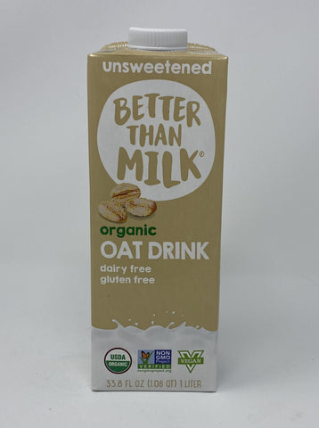 BETTER THAN MILK - ORG OAT DRINK - 33.8OZ