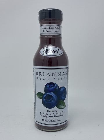 BRIANNA'S ORGANIC BLUEBERRY VINAIGRETTE 10 OZ BOTTLE
