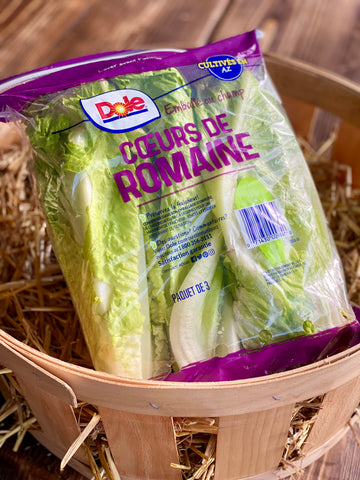 Romaine Hearts (Packed)