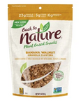 BACK TO NATURE BANANA WALNUT GRANOLA CLUSTERS 11 OZ POUCH