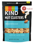 KIND - NUT CLUSTERS - ALMOND & COCONUT - 4OZ