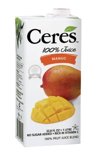 CERES MANGO FRUIT JUICE 33.8 OZ BOX