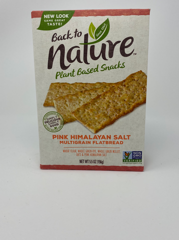 Back to Nature Pink Himalayan Salt Multigrain Flatbread