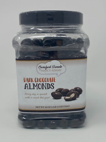 Comfort Sweets - Dark Chocolate Covered Almonds
