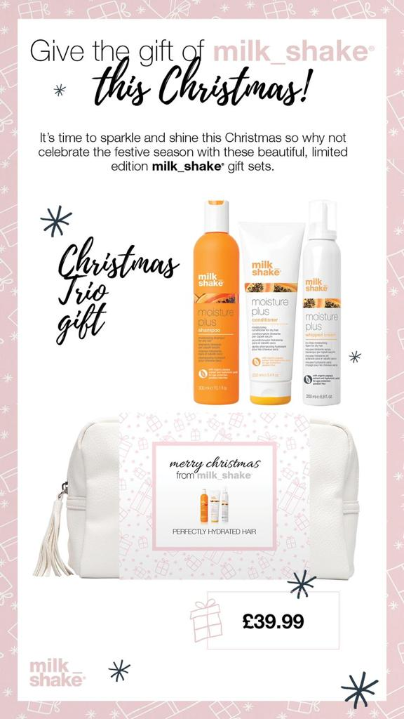 Milk-Shake trio gift sets