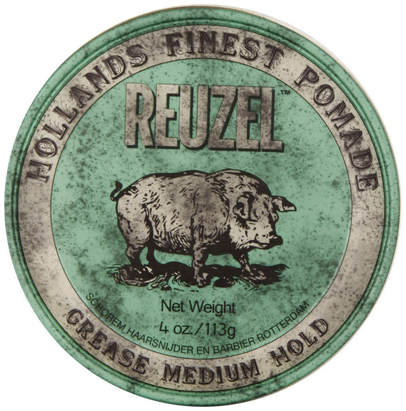 Reuzel Medium Green Grease Hold Pomade 113g