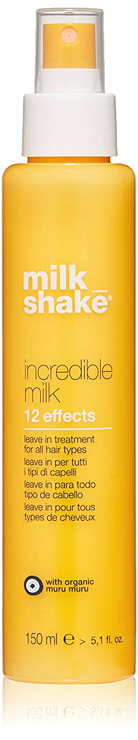 Z.one Milk Shake Incredible Milk, 12 Effects, 150ml, Professional Anti-frizz, Anti Split ends, Spray Treatment, 12 Effects, 150ml.
