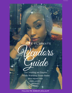 The Ultimate Vendors Guide