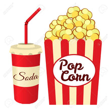 Load image into Gallery viewer, POPCORN & SODA COMBO FOR ONE