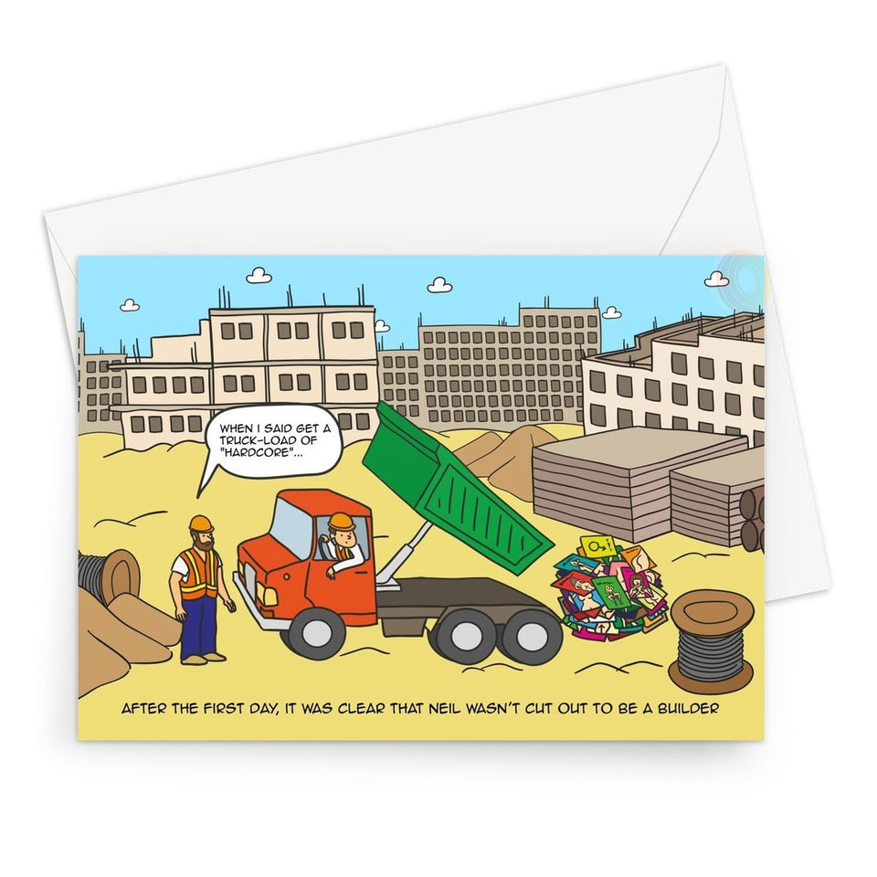 Birthday Cards - Digging The Dirt