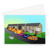 Load image into Gallery viewer, Birthday Cards - Flames Of Glory (UK) 10 Cards / A5