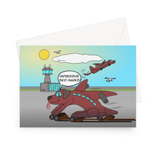 "Load image into Gallery viewer, Birthday Cards - Ruff Landing (UK) 1 Card / 5""x7"""