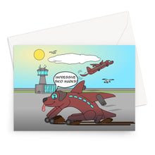 "Load image into Gallery viewer, Birthday Cards - Ruff Landing (UK) 10 Cards / 5""x7"""