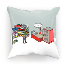 "Load image into Gallery viewer, Cushions - Zombie Apologies (UK/USA) S | 12"" x 12"" 