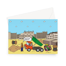 "Load image into Gallery viewer, Digging The Dirt - refreshed Greeting Card 5""x7"" / 10 Cards"