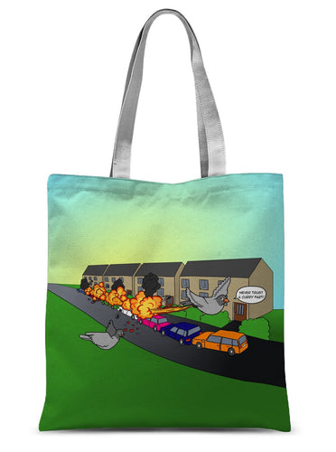 Flames of Glory Sublimation Tote Bag 15