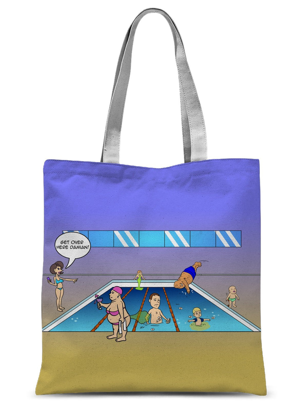 Getting Plastered - Refresh Sublimation Tote Bag 15