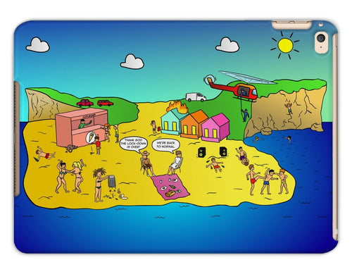 Life's A Beach Tablet Cases iPad Air 2 / Matte