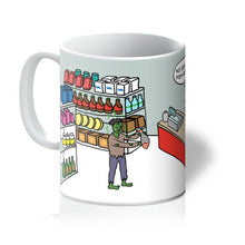 Load image into Gallery viewer, Mugs - Zombie Apologies (UK) 11oz / White