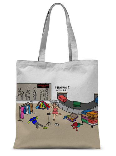Pack It In (Revised) Sublimation Tote Bag 15