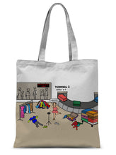 "Load image into Gallery viewer, Pack It In (Revised) Sublimation Tote Bag 15""x16.5"""