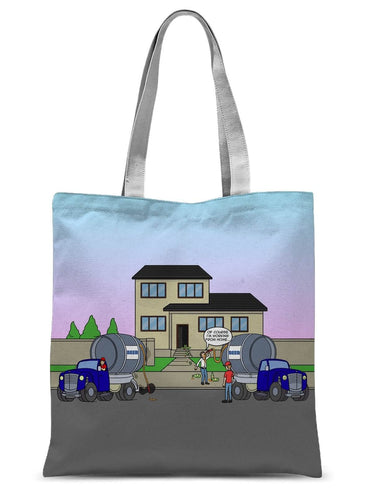 Slurping From Home - Refresh Sublimation Tote Bag 15
