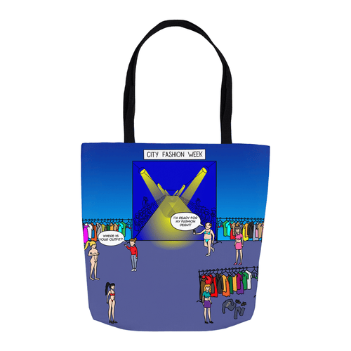Tote Bags - Fashion Victim (USA) 16x16 inch