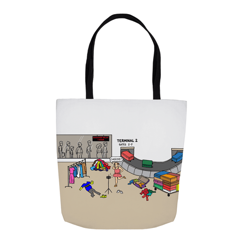 Tote Bags - Pack It In (USA) 16x16 inch