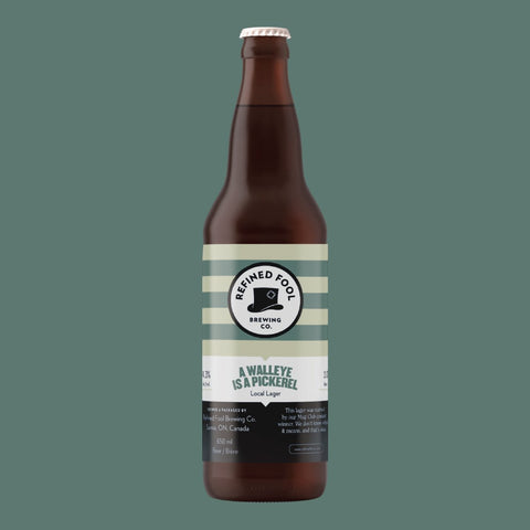A Walleye Is A Pickerel 650ml Refined Fool Brewing Co.